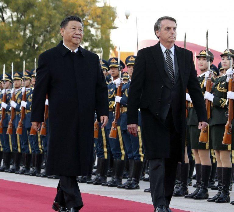 China y Bolsonaro.