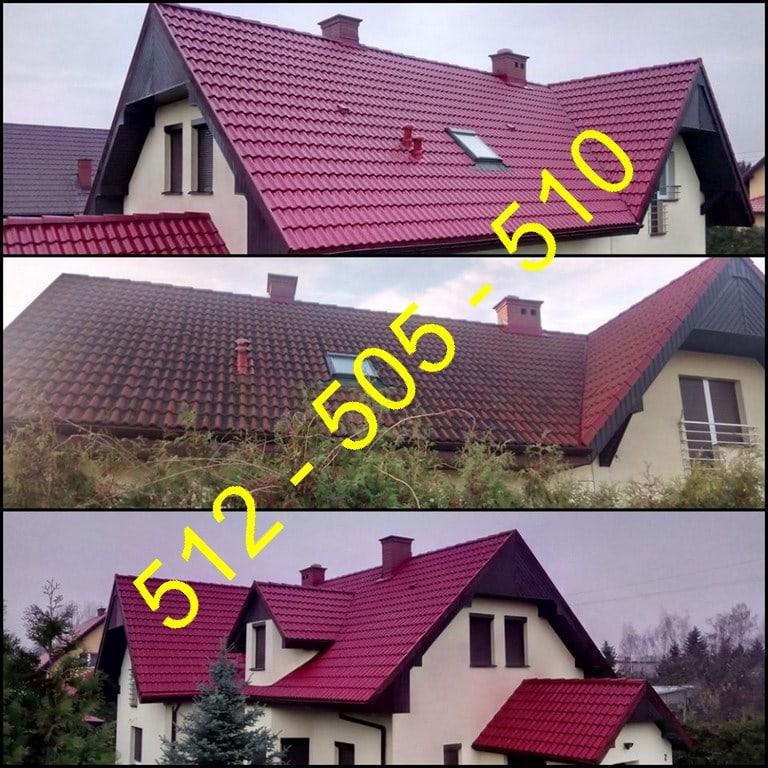 Mycie i czyszczenie dachów Szczecin