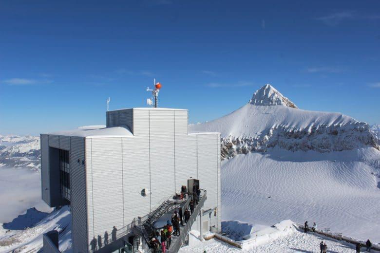 Family Day trip to Glacier 3000 - Les Diablerets