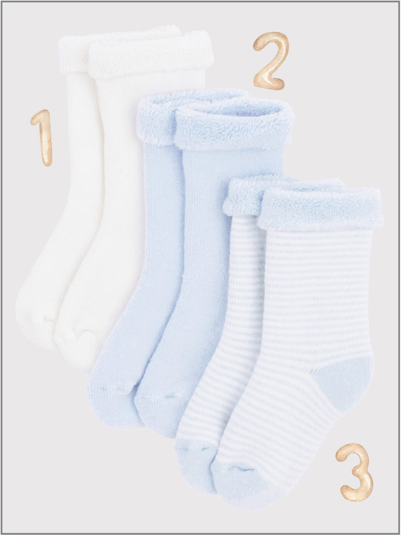 frederickandsophie-kids-soft-wear-petitbateau-france-newborn-baby-socks-organic-blue