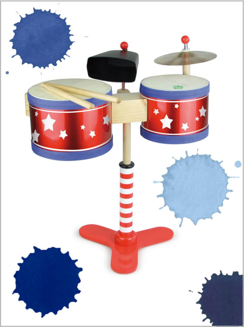 frederickandsophie-toys-vilac-wooden-kids-drum-set