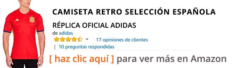 Camiseta de fútbol retro de España