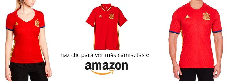 camiseta espana clasificacion Mundial Rusia 2018