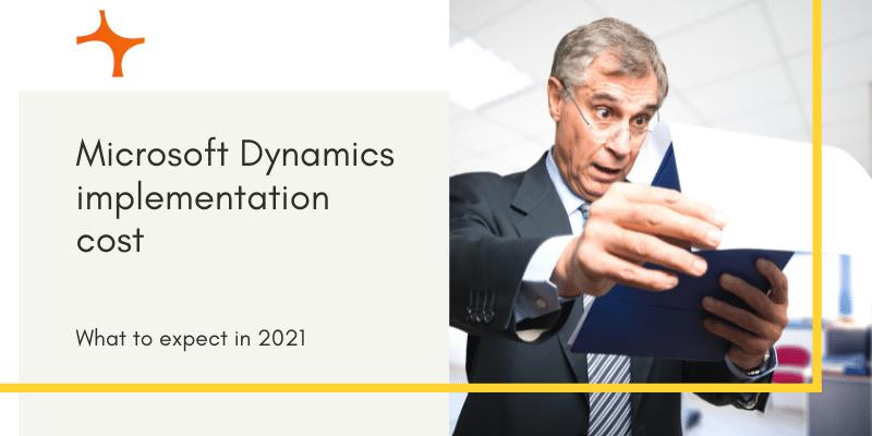 Microsoft Dynamics implementation cost