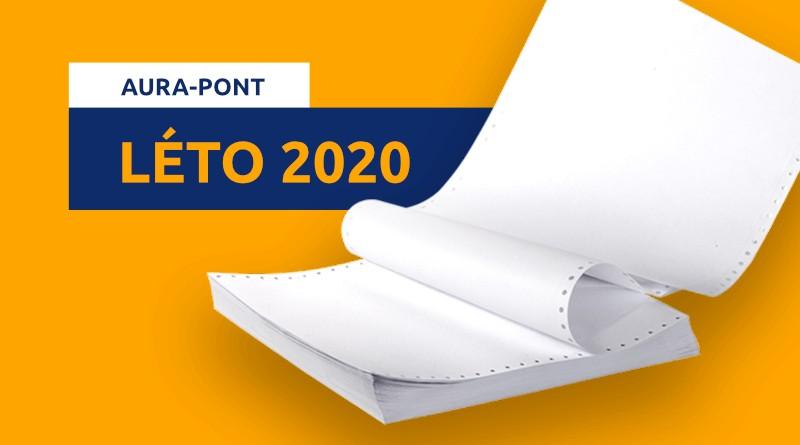 Listy Aura-Pont Léto 2020