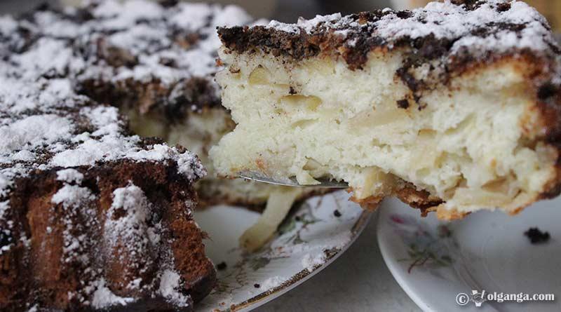 "Delicious cinnamon apple pie ""Sharlotka"" (Russian style recipe)"