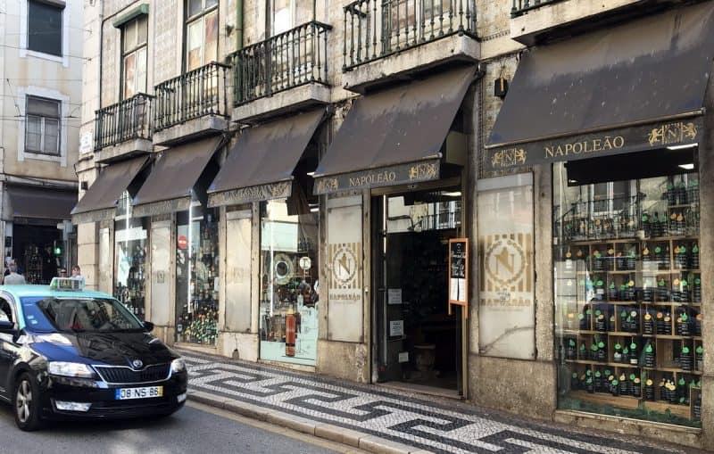 Napoleao, винный магазин в лиссабоне
