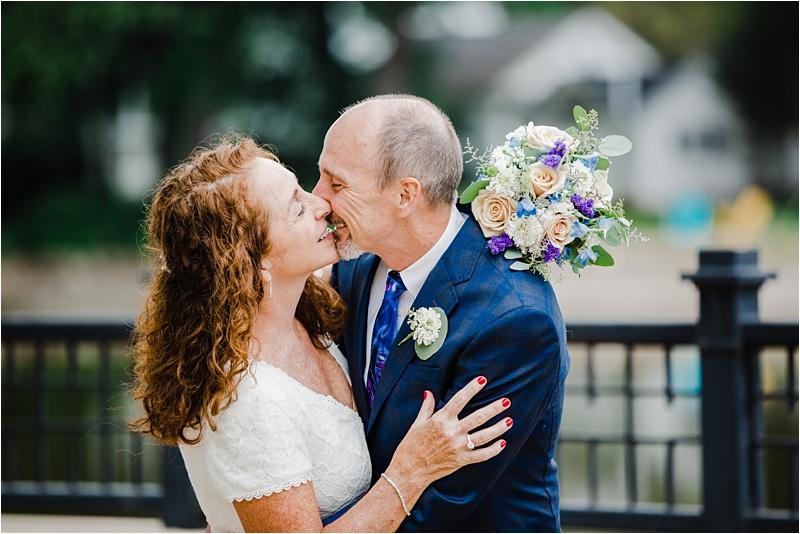 Bleuroot restaurant wedding, covid-19 wedding, social distancing wedding, wedding day with Chicago wedding photographers, intimate wedding