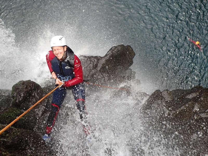 Canyoning à la Réunion avec Envergure