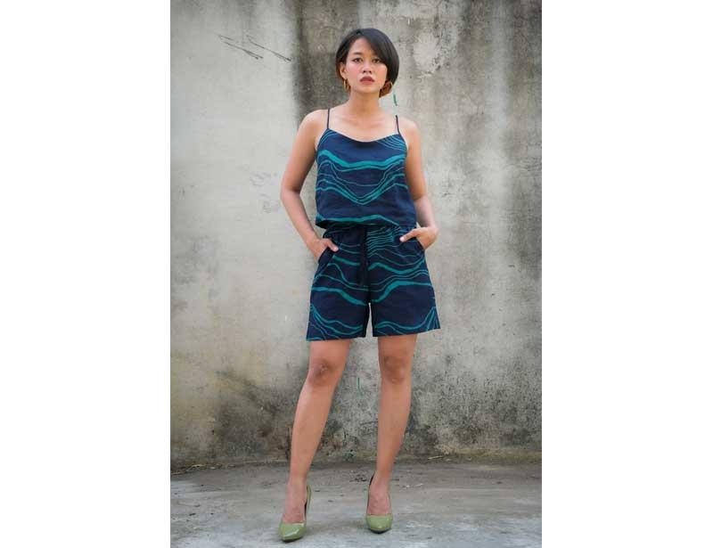 Tonlé NY Shorts Ethical Fashion Brand