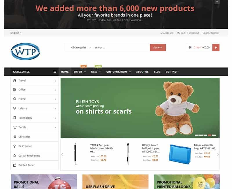WTP Poslovna in promocijska darila webshop