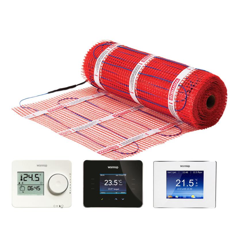 Elektrische vloerverwarming Stickymat 150W of 200Watt
