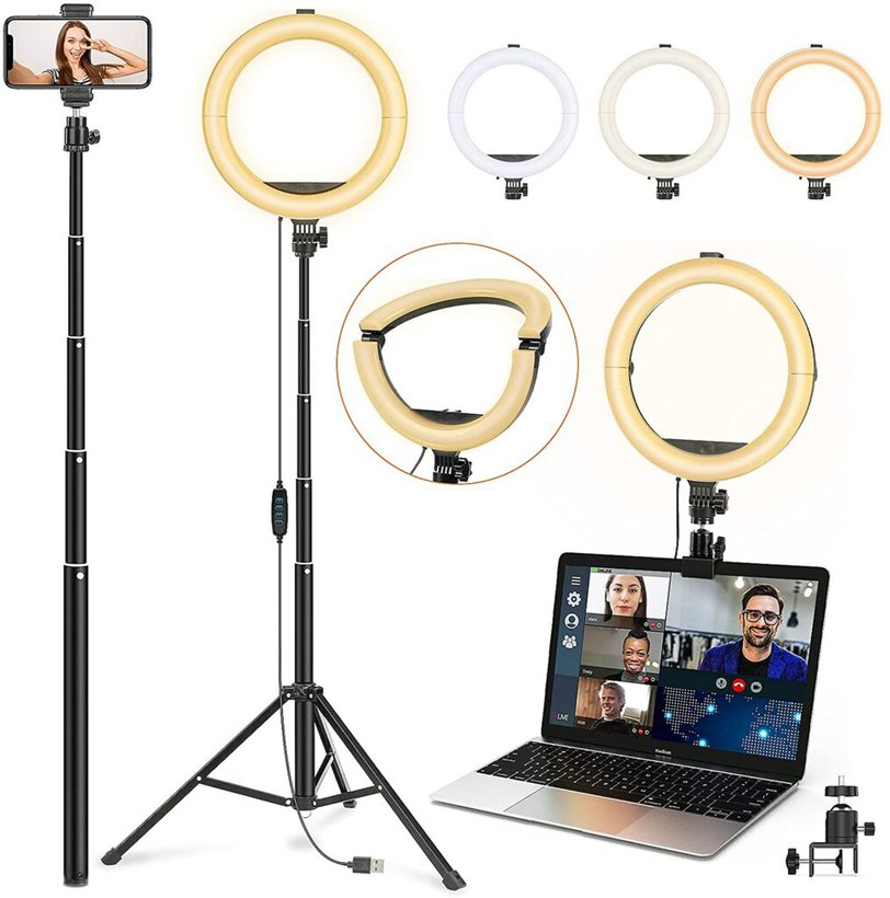 Image shows the tripod product page.