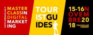 Digital Marketing per guide turistiche - corso 15 e 16 novembre 2018