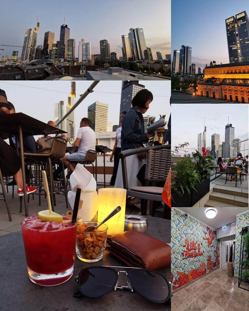 Lili's Roof Garden - Rooftop Bar im Sofitel Frankfurt