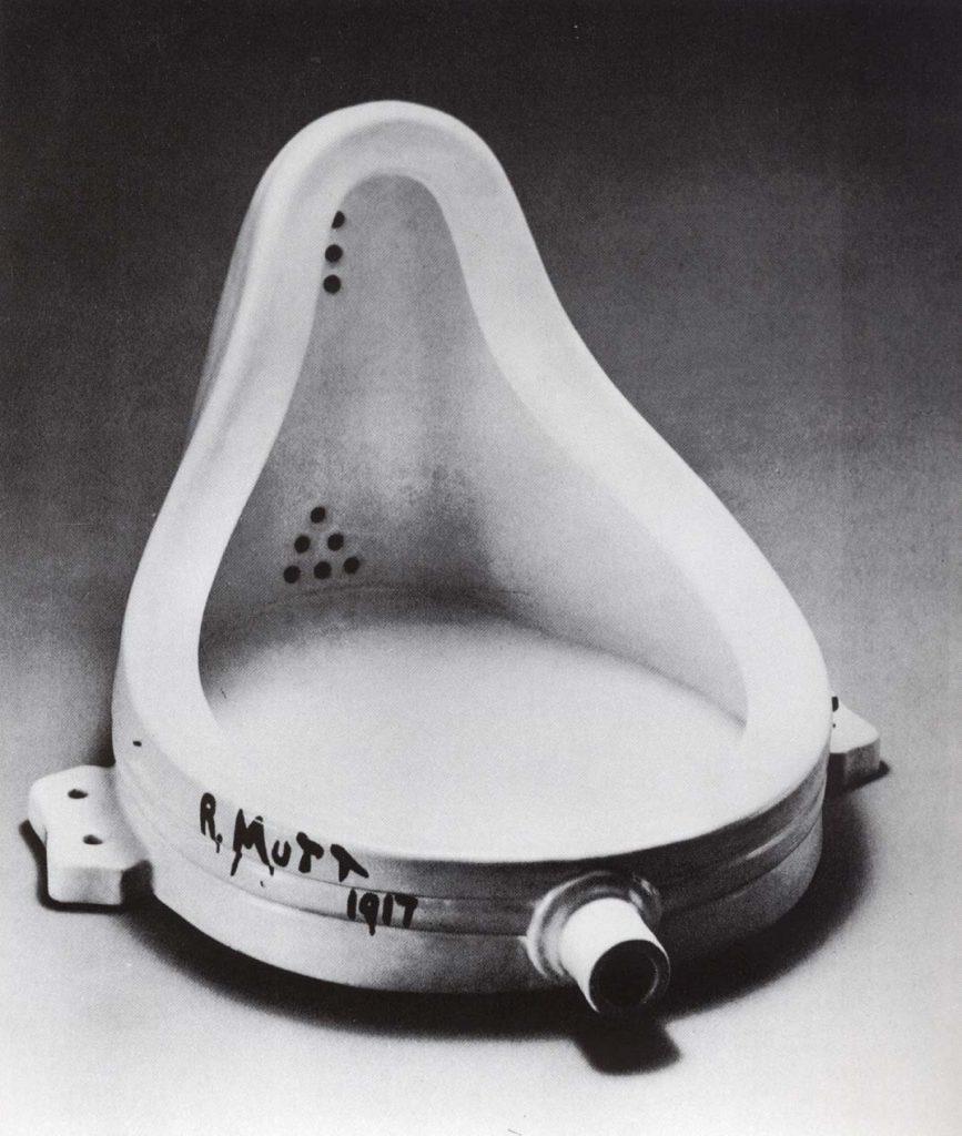 Marcel Duchamp, Fountain, replica