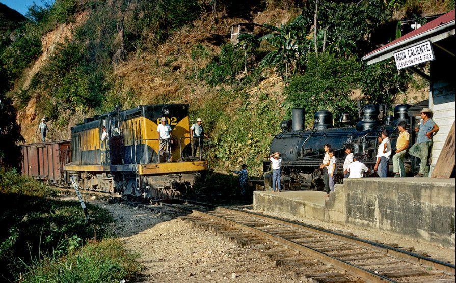 Estación de Agua Caliente - Ferrocarril del Norte de Guatemala