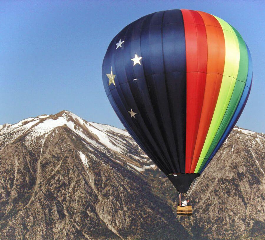 Hot air ballooning in Carson Valley
