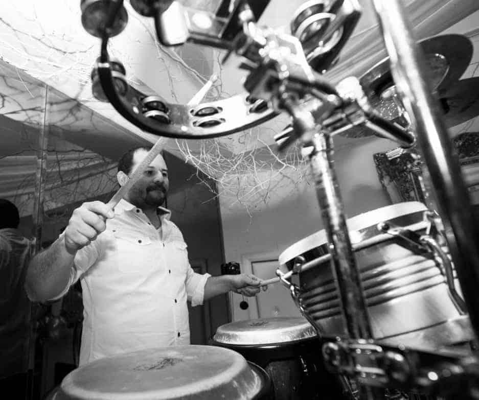 harry hector percussionist hire storm djs