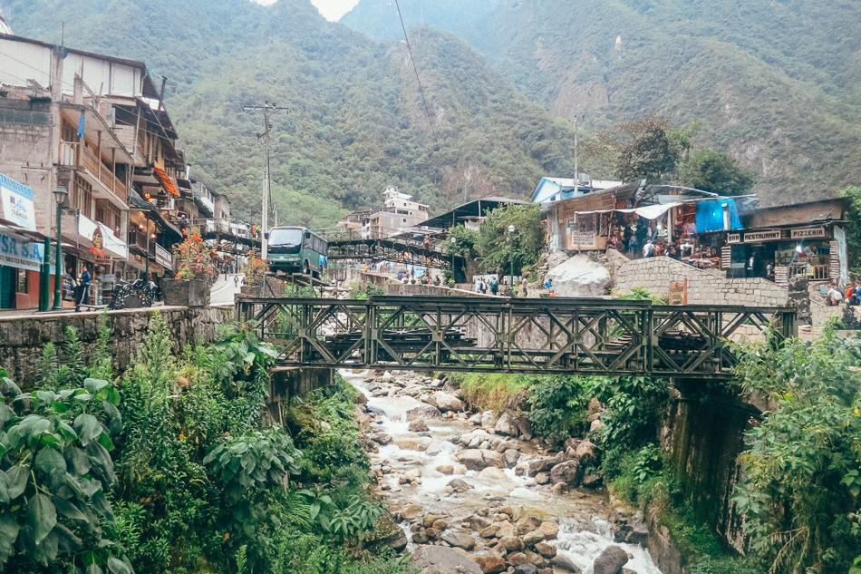 Aguas Calientes in Peru