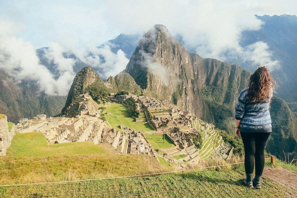 Reaching Machu Picchu in Peru