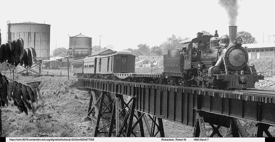 Ferrocarril en Mazatenango