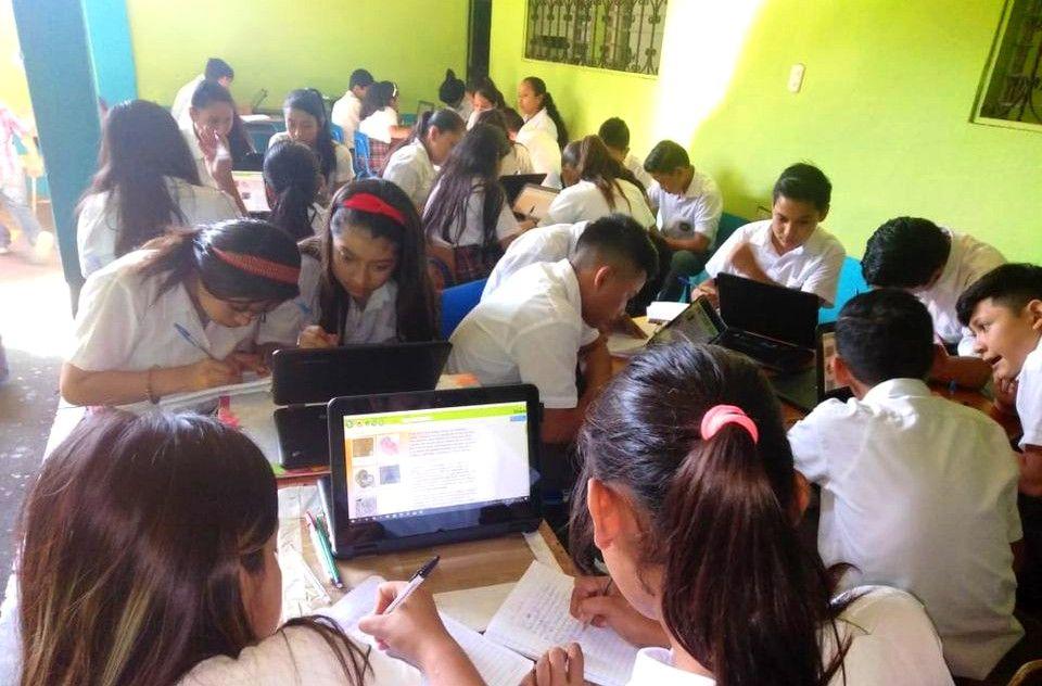 Internet incorporado a las aulas