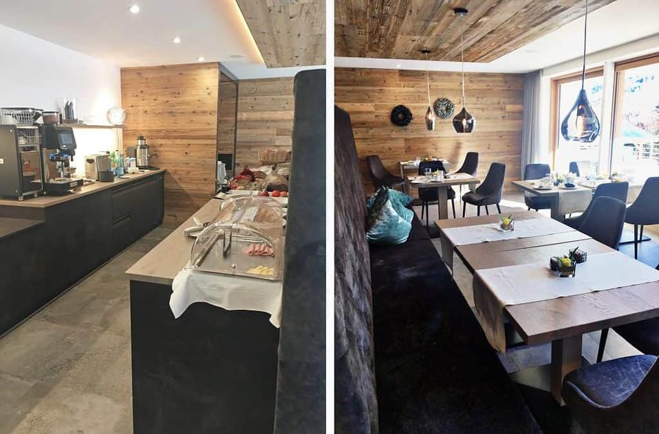La Bercia Dolomites Residence, breakfast room