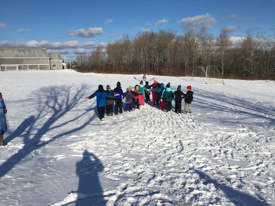 Jonesport Elementary School Winter Games 2020 Week 1