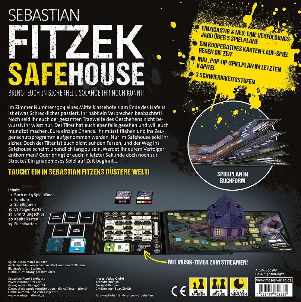 Safe House Brettspiel