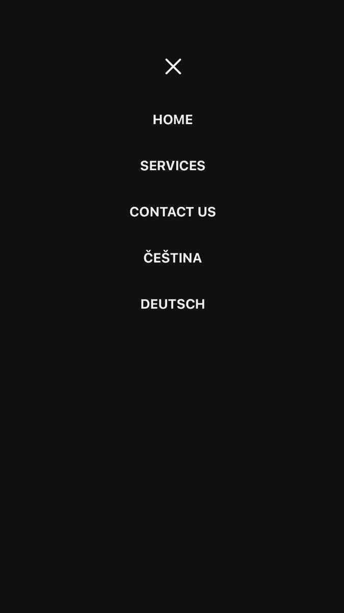 Mobilní menu
