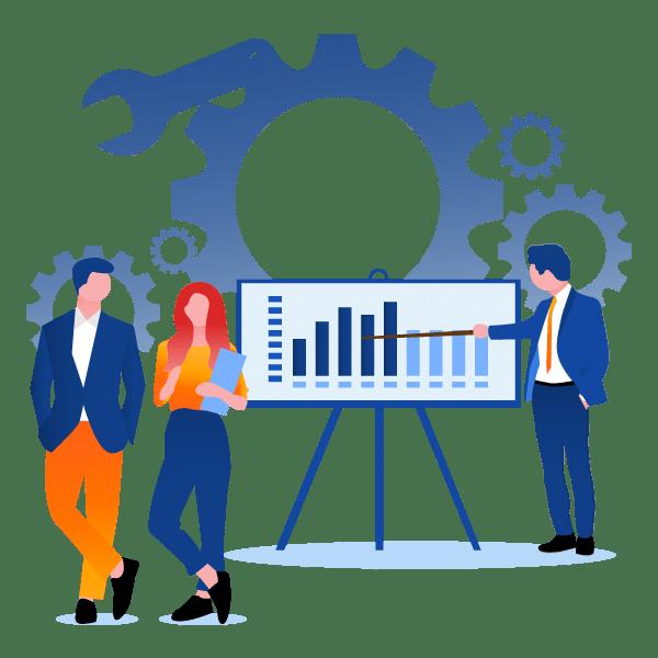 Salesforce-field-service-gantt-chart-map-view