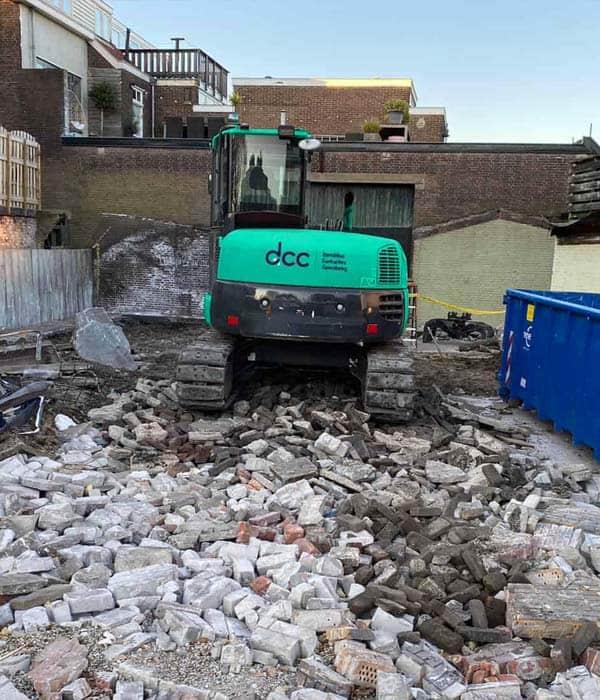 Binnenstedelijk Renovatie Sloopwerk door DCC