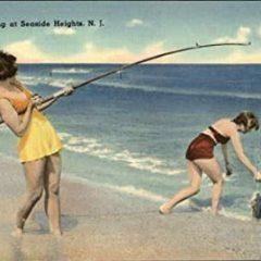 Original Vintage Fishing Postcard Gifts