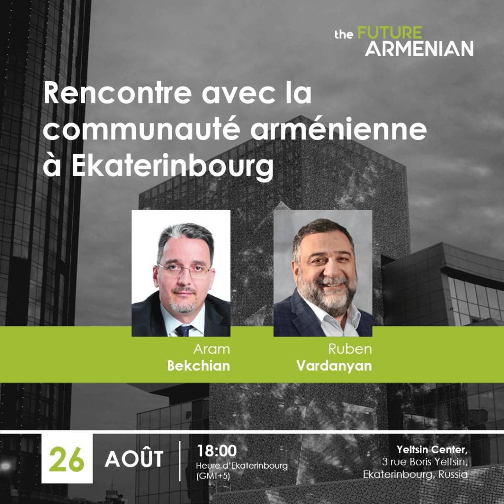 Rencontre avec la communauté arménienne à Ekaterinbourg