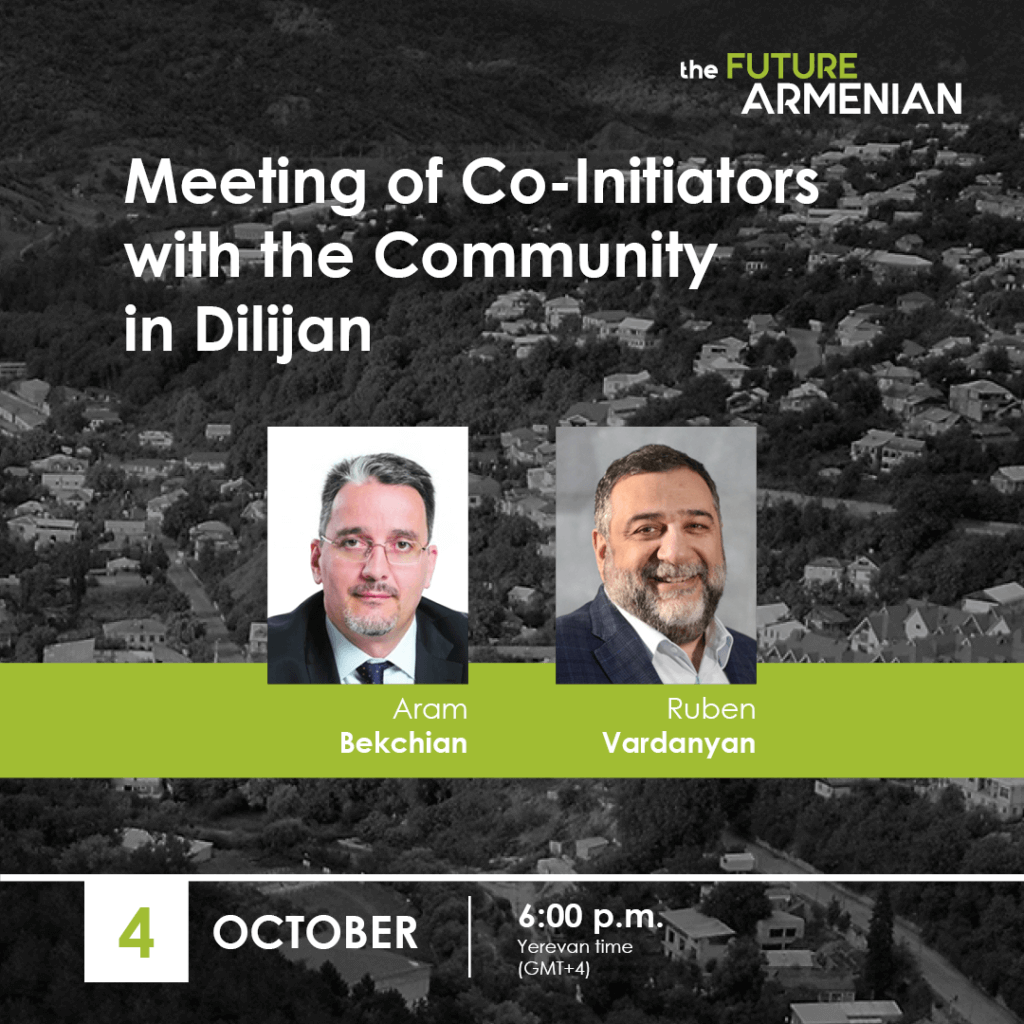 Meeting with the Community in Dilijan