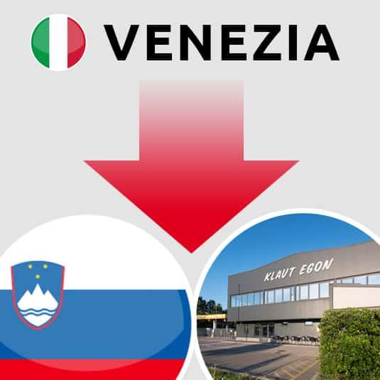 Prevoz Venezia (IT) – Šempeter pri Gorici