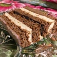 Piernik Traditional Polish Gingerbread Cake Recipe With Semolina Custard Filling