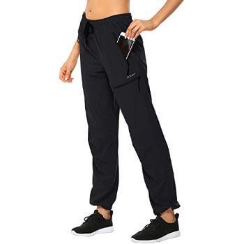 4. MOCOLY Women's Cargo Hiking Pants