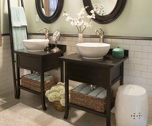 Tipp zum Bau berät Sie über den Waschtisch mit Unterschrank.