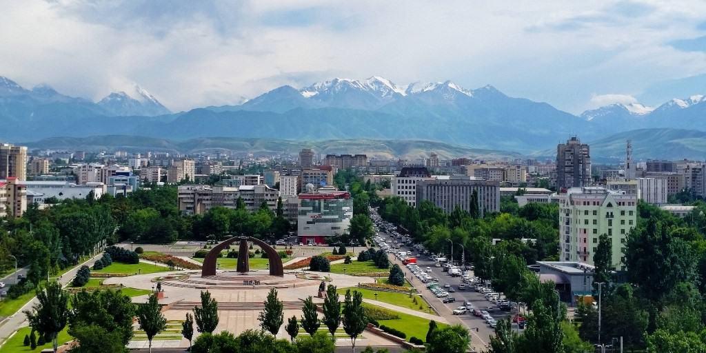 Jour 1. Aéroport – Bichkek (ca. 30 km., 40 min)