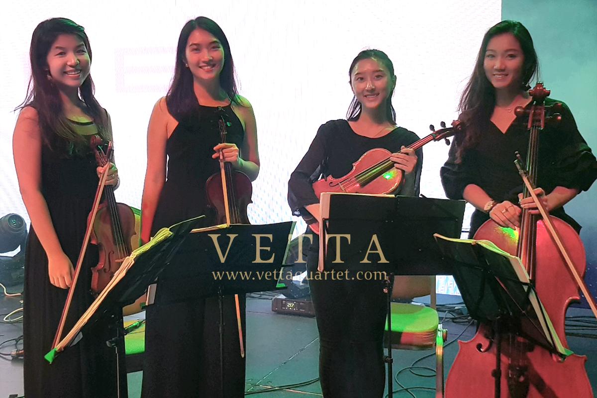 ESTA Quartet for Corporate Event at RWS, Grand Ballroom