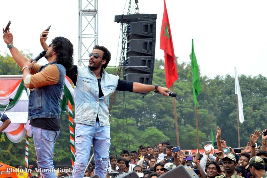 Toshi and Sharib Sabri at IGCL in Kashi