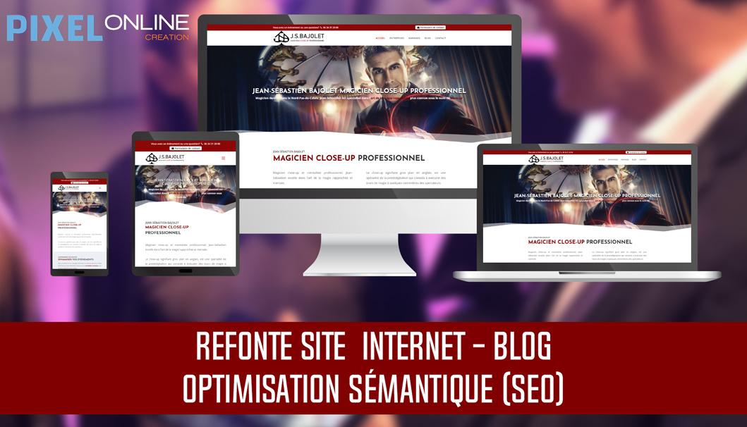 Refonte site Internet magicien et optimisation sémantique – Le magicien pro
