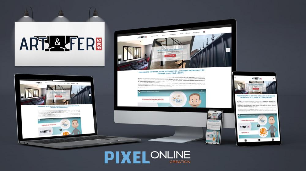 Création site E-commerce & développement sur-mesure – Art et Fer
