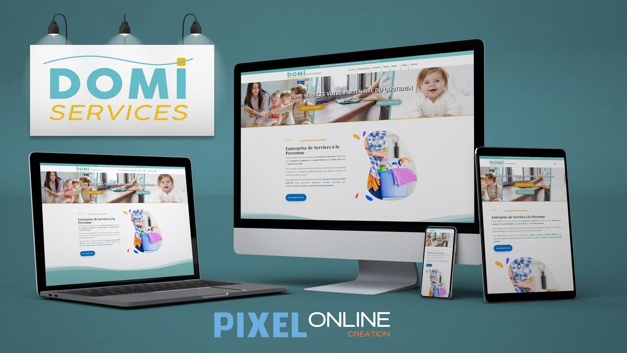 Refonte site Internet, formation, blog – Domi Services