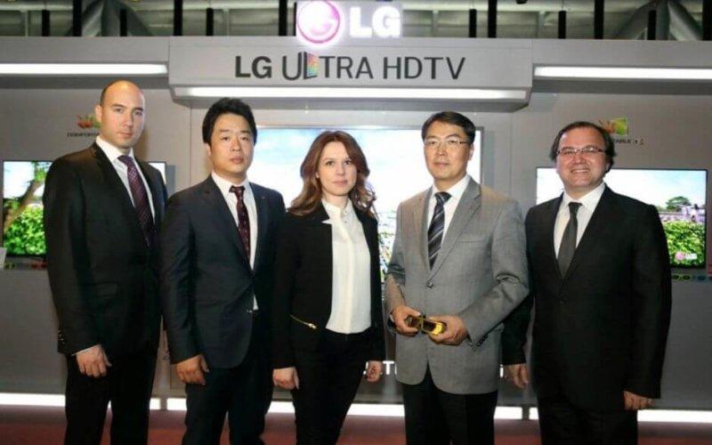 LG, Cinema 3D Smart TV'ler ile Tv Pazarında Trendleri Belirliyor.