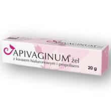Apivaginum, żel z kwasem hialuronowym i propolisem, 20 g