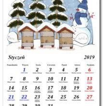 Kalendarz pszczelarza 2019 styczeń