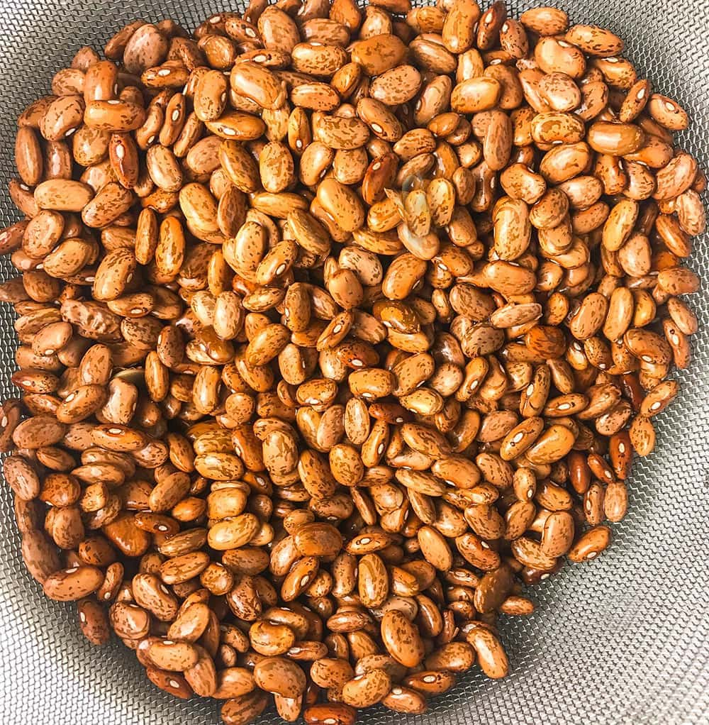 pinto beans for making refried beans